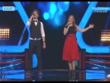 Мариос Феодоритис VS Катерина Терзопулу - That's Amore (Dean Martin)