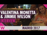 Valentina Monetta &amp Jimmie Wilson (San Marino 2017) Interview  Eurovision PreParty Spain 2017