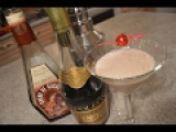 Lady Apple &amp Haskap Brandy Alexander Cocktail Cooking with Kimberly