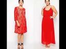 Свободные платья для полных женщин