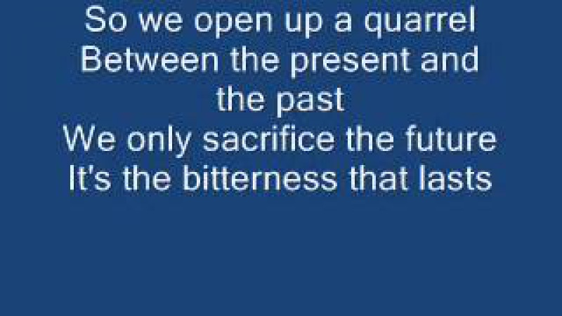 Mike and the Mechanics - The Living Years lyrics