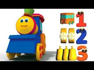 بوب قطار مغامرة مع عدد   تعلم الأرقام   Bob Train Adventure with Numbers   Learn