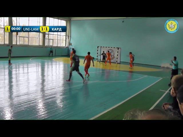 Highlights / Юні-Ламан 3:3 Кардинал-Рівне / 6 ТУР / Екстра-Ліга 2016/2017