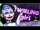 (SFM) FNAF SISTER LOCATION SONG | Twirling Girl ► Performed by Elizabeth Ann