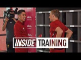 Incredible behind the scenes access at Liverpool FC pre-season training