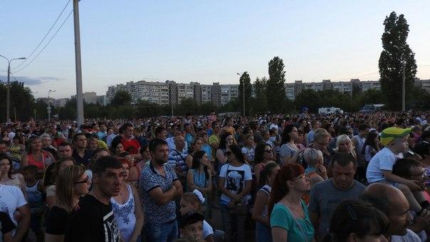 Концерт Егора Крида в честь 50-летия Каустика #волгоград #влг #красноа