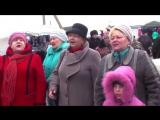 Наш Флешмоб. Станица Челбасская, Краснодарский край 21 января 2017. Цвте терен