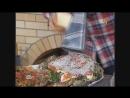 Рыба-пицца и баклажаны-ляванги в тандыре