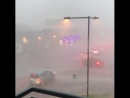Strong winds and heavy rain pummeled Austin, Texas Monday afternoon. The heavy rain caused water levels to quickly rise. Weather