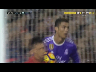 Валенсия - Реал. Гол Роналду