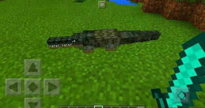 Аддон Крокодил для MCPE 1.0.0/1.0.4