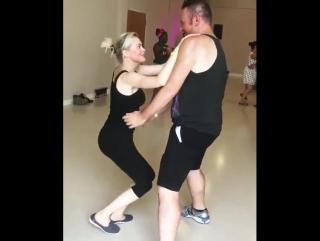 Elaine & Micah dance