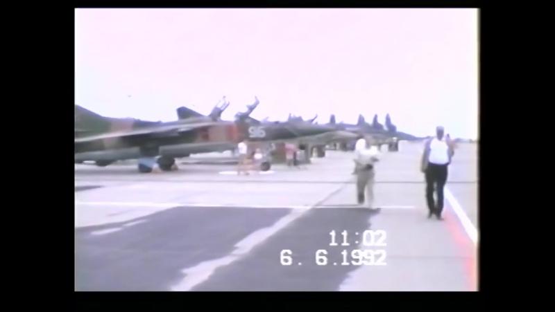 Авиашоу в 559 м АПИБ аэродром Финстервальде ГСВГ ЗГВ ГДР