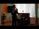Праздничный концерт для ветеранов войны и труда проживающих в доме престарелых Зеленого города
