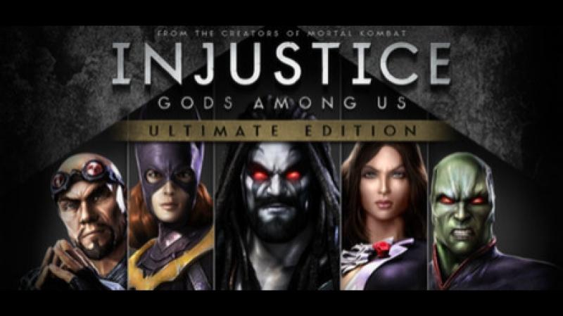 Прохожу битвы вInjustice Gods Among Us