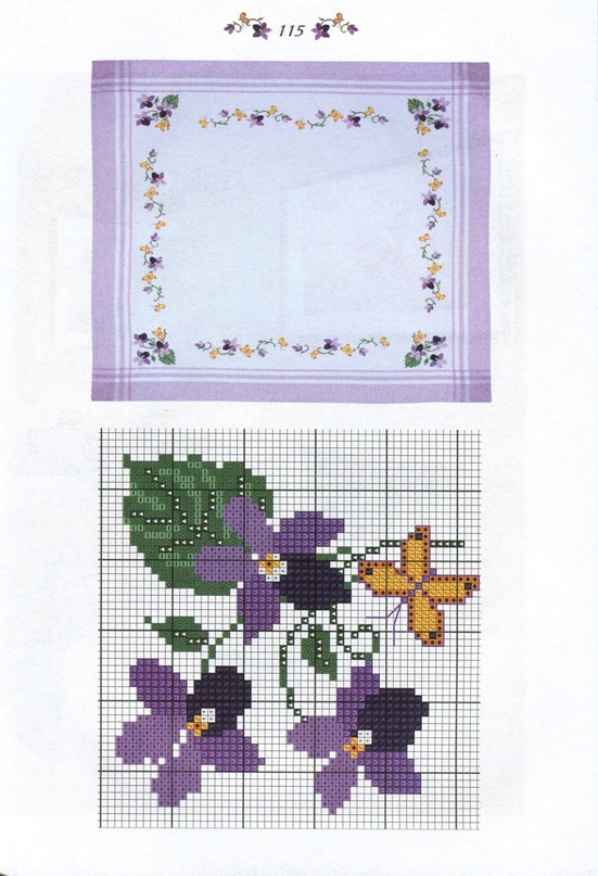 Рисунки для вышивки атласными лентами 88