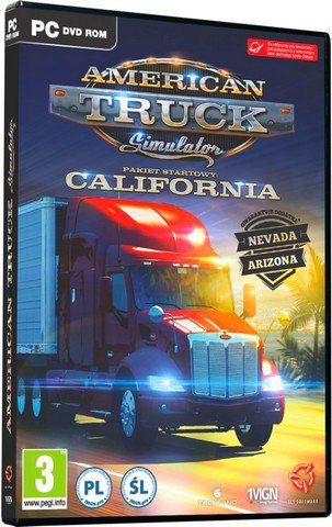 American Truck Simulator [v 1.5.1.2s + DLC] (2016) PC | RePack от Other's