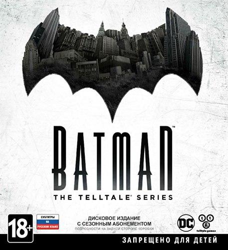 Batman: The Telltale Series - Episode 1-5 (2016) PC | Лицензия