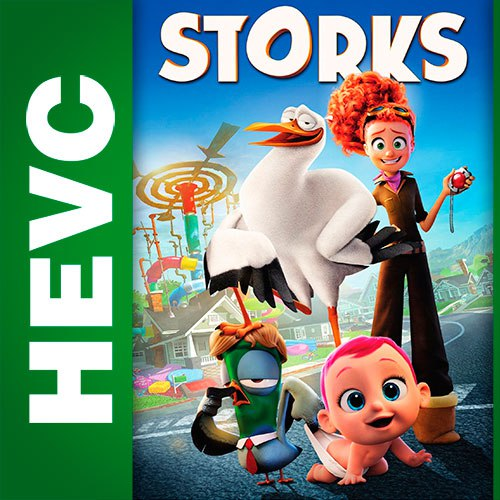Аисты / Storks (2016) BDRip HEVC 1080p   D   iTunes