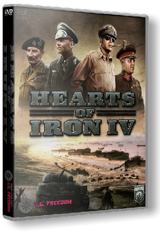Hearts of Iron IV: Field Marshal Edition [v1.3.0.5256 + DLC] (2016) PC | RePack от R.G. Freedom