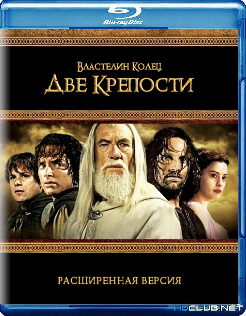 Властелин колец: Две крепости / The Lord of the Rings: The Two Towers (2002) BDRip-AVC от HQCLUB | D, P | Extended Cut