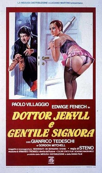 Доктор Джекилл и милая дама / Dottor Jekyll e gentile signora (1979) DVDRip-AVC | A