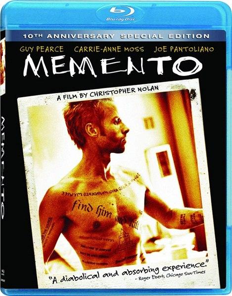 Помни / Memento (2000) BDRip 1080p | 10th Anniversary Special Edition