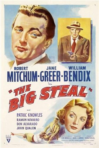 Большая кража / The Big Steal (1949) DVDRip от egoleshik