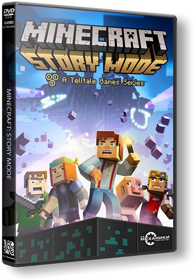 Minecraft: Story Mode - A Telltale Games Series. Episode 1-8 (2015) PC | RePack от R.G. Механики