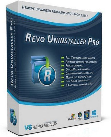 Revo Uninstaller Pro 3.1.8 Final (2015) РС | + RePack and Portable by D!akov /  by KpoJIuK