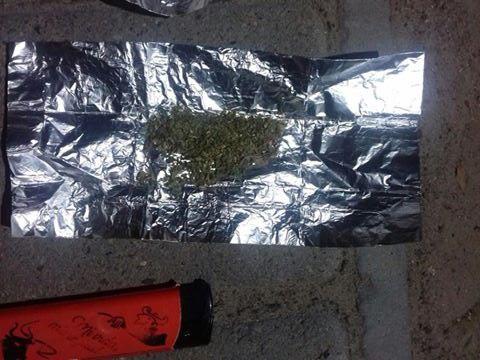 Порошок та речовини рослинного походження, схожі на наркотичні, знайшли вночі