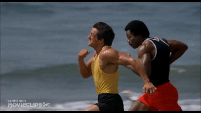 Rocky III Movie CLIP - Getting Stronger (1982) HD