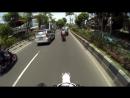 Мото-блог сел на хвост полицейскому kawasaki klx 150