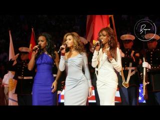 Destiny's Child - National Anthem USA (NBA All Star Game) [2006]