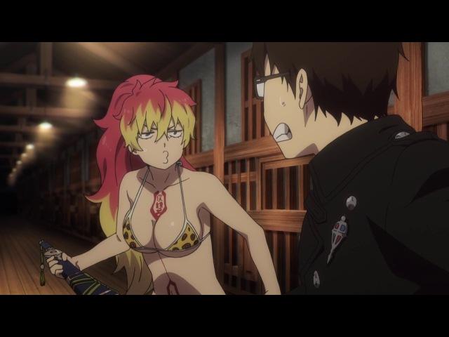 [vk.com/AnimeInMinsk] Ao no Exorcist Kyoto Fujouou Hen ТV-2 07 / Синий Экзорцист 2 сезон 7 серия [OVERLORDS]