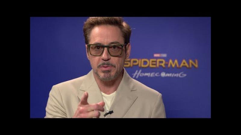 Роберт Дауні-мл. запрошує у кіно на фільм «Людина-павук: Повернення додому»