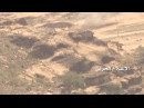 Houthi fighters use Konkurs ATGM to target Saudi tank in Al Raboah S Asir in KSA 5\8\2016