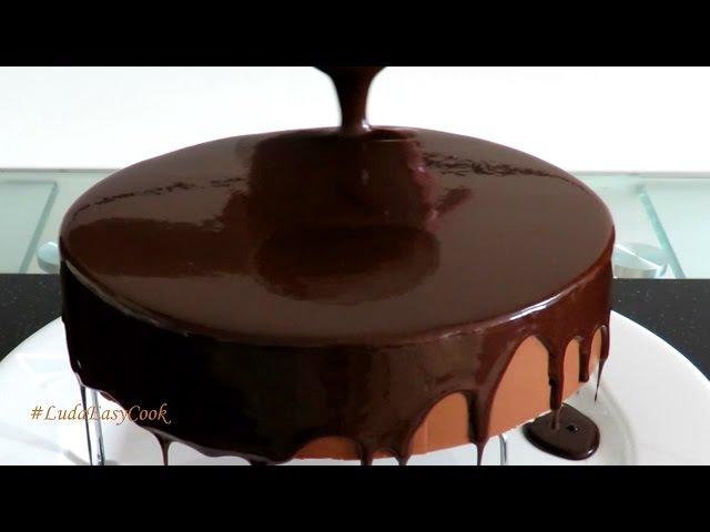ЗЕРКАЛЬНАЯ ГЛАЗУРЬ Шоколадный ГЛЯССАЖ видео - Chocolate mirror glaze làm socola - phủ bánh làm glaze