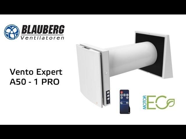 Blauberg Vento Expert A50 1 Pro проветриватель воздуха