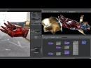 Substance Painter to Arnold 5 perfect Workflow on Hard Surface model - Tutorial