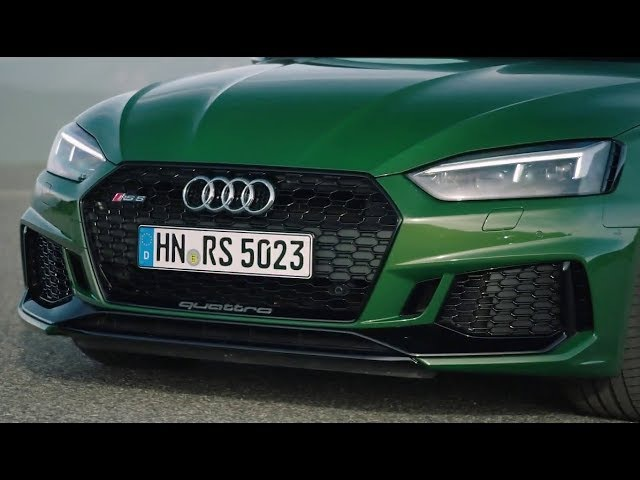 2018 Audi RS5 Coupe Drive / Interior and Exterior