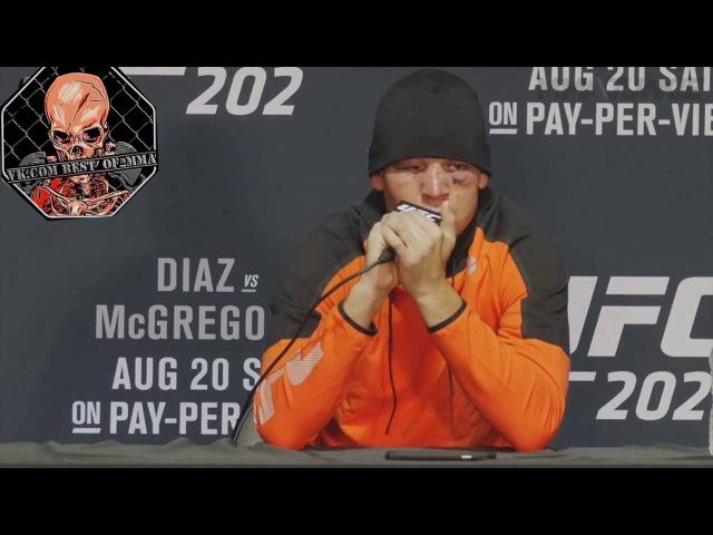 Лучшие моменты с пресс конференции Нэйта Диаза после боя с Конором Макгрегором на UFC 202
