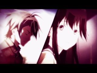 Грустный аниме клип про любовь - Рядом будь, рядом со мной