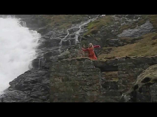 Хульдра. Водопад Кьосфоссен.