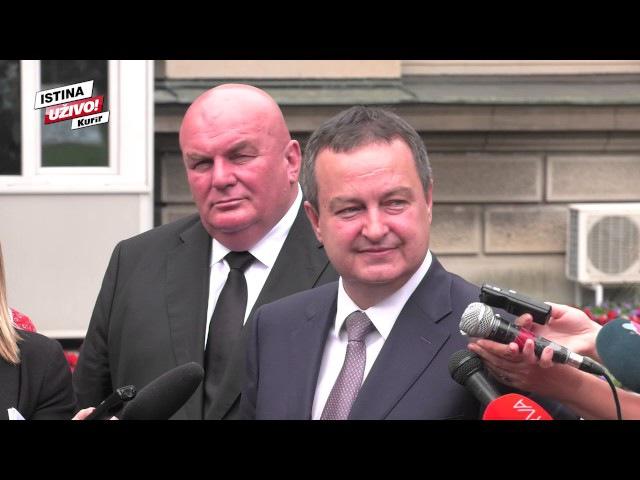 (KURIR TV) DAČIĆ NONŠALANTNO NAKON KONSULTACIJA S VUČIĆEM: Ma, ja sam ionako već bio premijer!