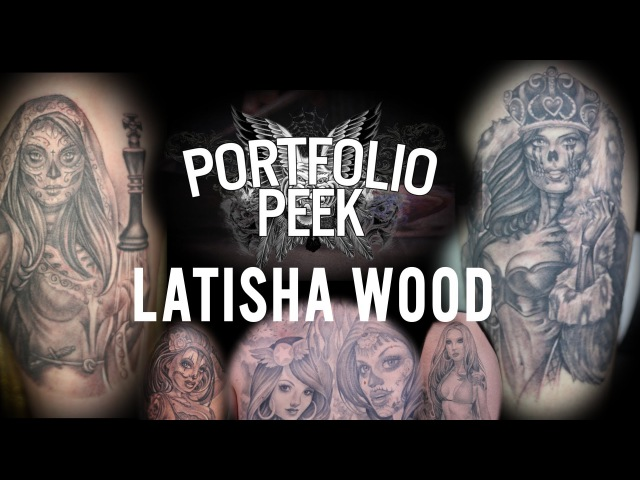 Portfolio Peek - Latisha Wood
