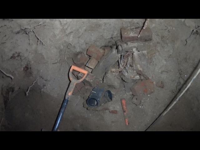 ML54 Раскопки финского блиндажа Finnish blindage excavations HD SUB