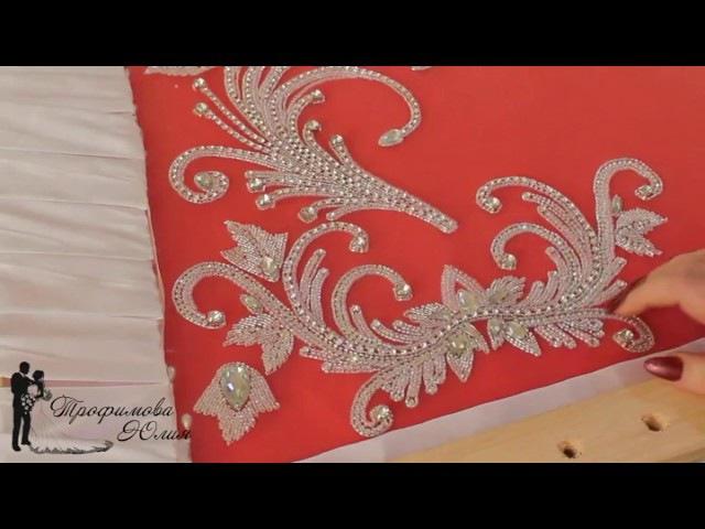 Люневильская вышивка Как сшить платье с эффектом обнаженного тела на перегибис