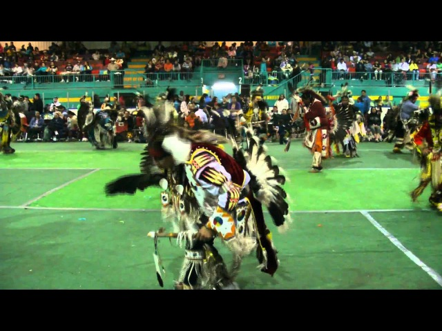 Loon Lake Powwow 2011, Mens Traditional, 1st Song, Sunday Night
