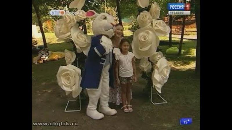 Репортаж о проекте Алиса в сказочном лесу в телепрограмме Новый день (21.07.2017)